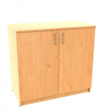Closed office cabinet
