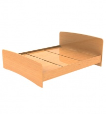 Household bunk bed of Laminated chipboard