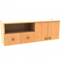 Wall cabinet for accessories