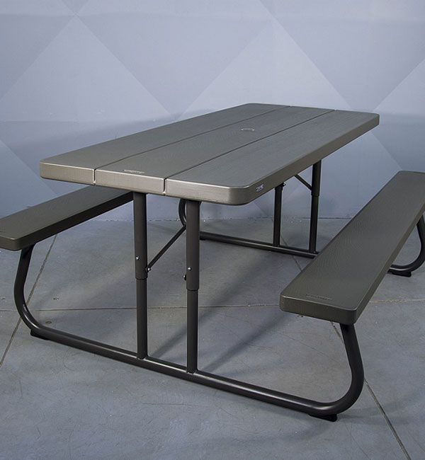 "Set of furniture ""Picnic"" (folding table+2 benches)"