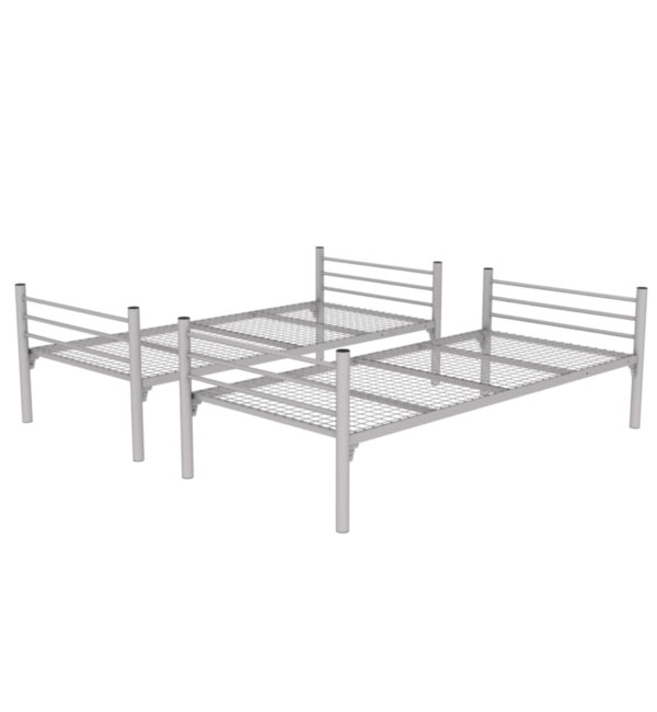 Metal reversible bunk bed