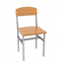 Student chair, height-adjustable №2-№4