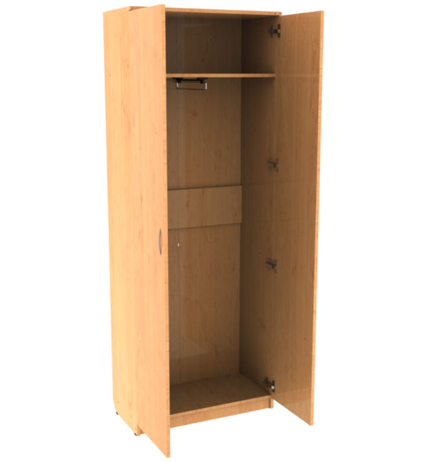 Office сabinet for clothes, double- leaf