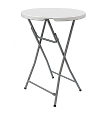 "Folding plastic table ""Sputnik"" 80"