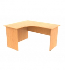 Table ergonomic angular