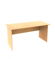 Office table of laminated chipboard