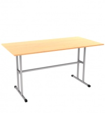 Metal frame universal military desk