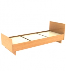 Household bed of Laminated chipboard