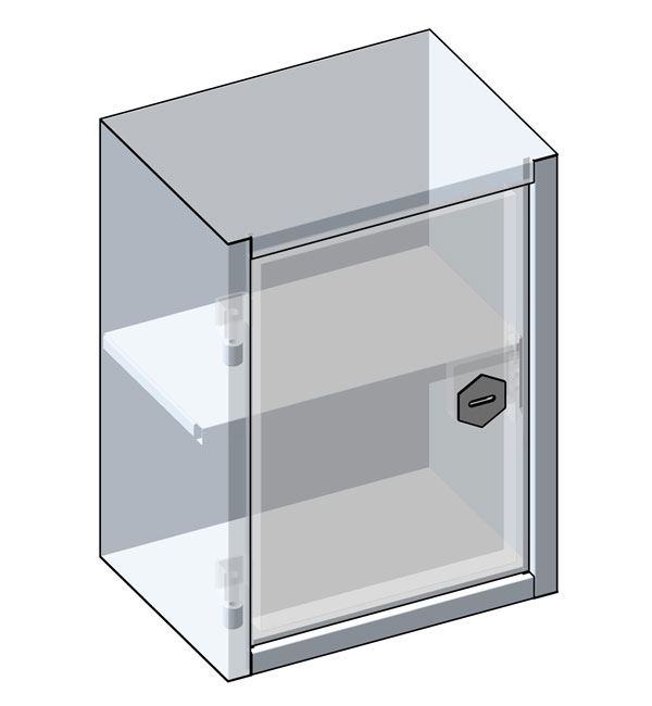Metal cabinet, small
