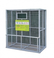 Mesh container for separate garbage collection