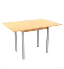 Dining table folding chipboard + plastic