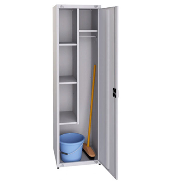 Household Cabinet for cleaning equipment, single- section