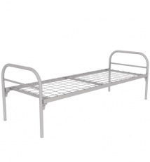 Single metal bed