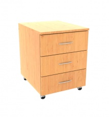 Drawer unit with three drawers