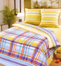 Poplin bedding set