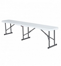 Collapsible plastic bench 180L