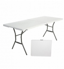 Plastic folding table collapsible 180L