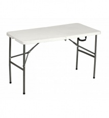 Folding table collapsible