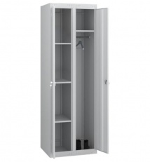 Utility cabinet, two-section (metal)